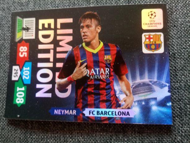 Karty limited edition 2013/14 Neymar Pique Xavi Schweinsteiger