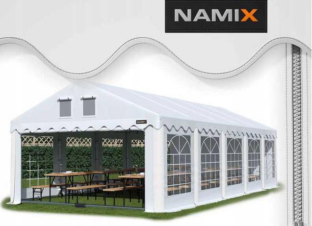 Namiot GRAND 5x10 ogrodowy imprezowy garaż wzmocniony PVC 560g/m2