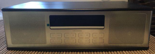 _|_ Nowe Radio Bluetooth w Drewnie - Odtwarzacz CD USB MP3 BT - PILOT