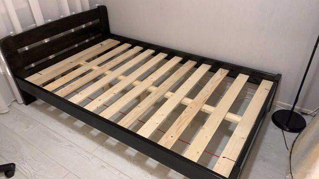 Кровать деревянная 140х200.см