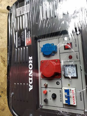 Agregat prądotwórczy Honda EM 5500 CXS