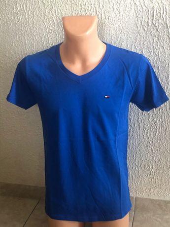 Tommy Hifiger t-shirt męski w szpic XXL