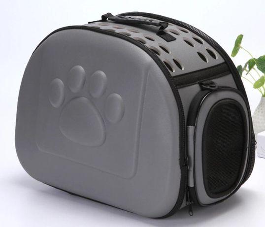 HIT !!! Składany transporter dla kota klatka I092