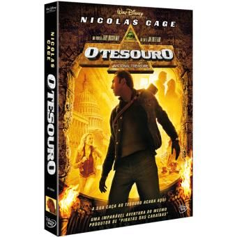 O Tesouro (Disney) (DVD Novo)
