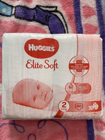 Huggies Elite Soft Mega р.2, 82 шт.