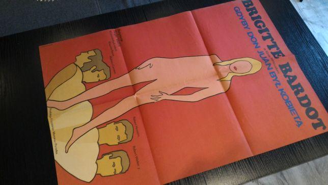 Afisz filmowy - plakat - Brigitte Bardot, Gdyby Don Juan był kobietą