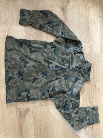 mundur polowy letni s/xl zielony asg wędkarstwo