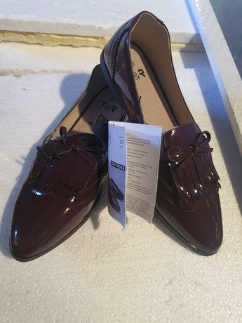 Mokasyny buty damskie Tom&Rose rozm.39 nowe.