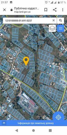 Продам земельный участок под застройку 10 соток