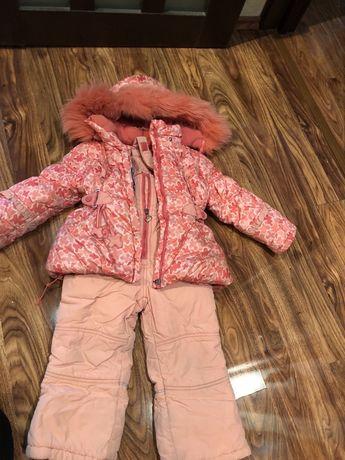 Комплект зимний куртка и штаны
