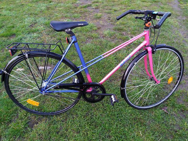 Rower 5 biegowy damka szosowy wąskie koła 28 cali