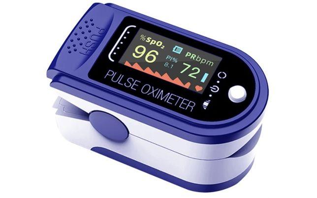 *Pulsoksymetr Medyczny Napalcowy Oled Instrukcja i Wysyłka PL+Baterie*