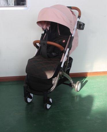 Прогулочная коляска Carello Astra розовая