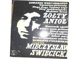 Romanse Wertyński - Mieczysław Święcicki