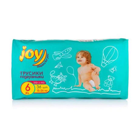 Joy 6 подгузники-трусики 36 шт