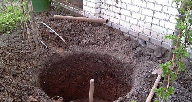 сливные ямы под круг
