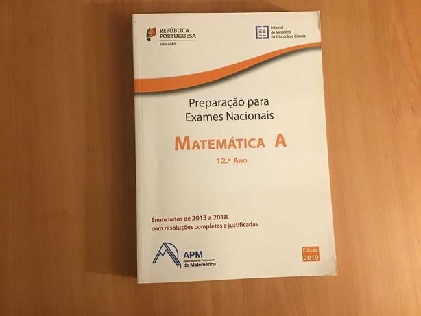 Manual Matemática A Preparação Exame Nacional 2019
