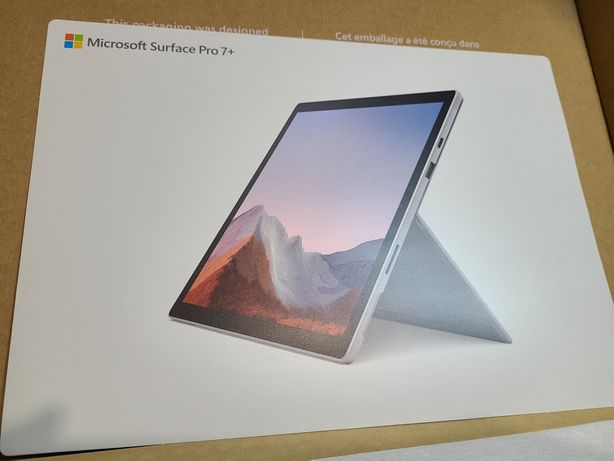 Microsoft Surface Pro 7+ with LTE i5 (11Gen) 8 RAM 128 SSD