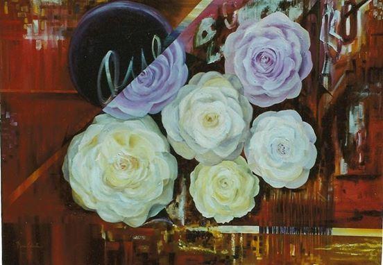 Pintura a óleo 100x120cm original Maria Celeste Art