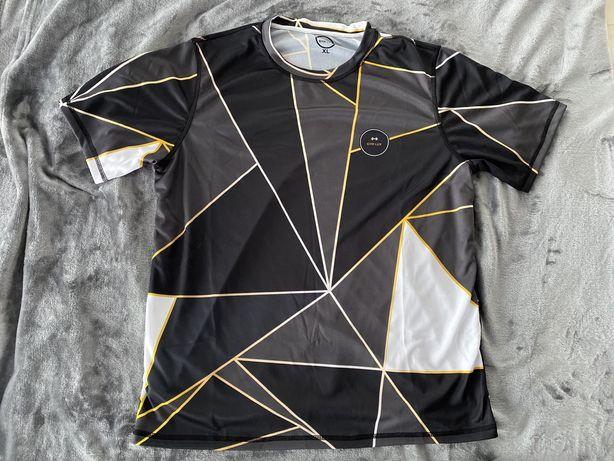Koszulka t- shirt na silownie, bieganie, rower GYM LUX, r. xl
