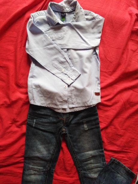 Zestaw 110 Max Mia koszula + spodnie
