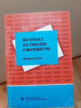Materiały do ćwiczeń z matematyki