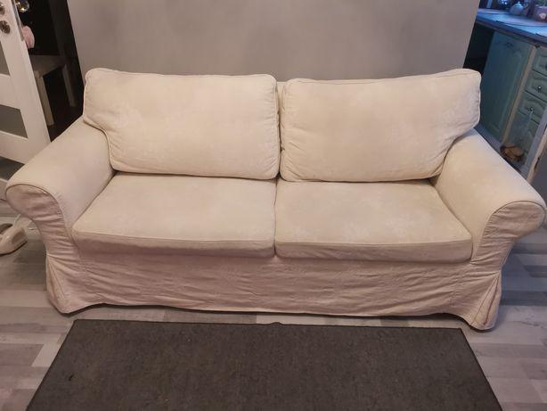 Sofa łóżko Ektorp Ikea rozkladana.