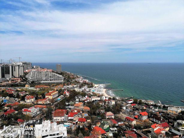 Аркадия, квартира с красивым видом на море