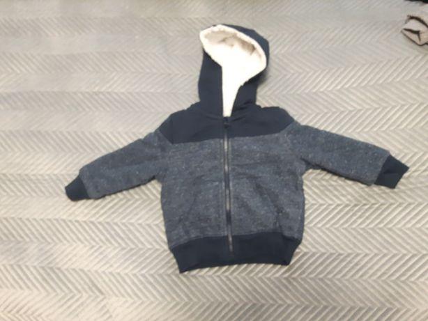 Bluza ocieplana dla dziecka rozmiar 86-92