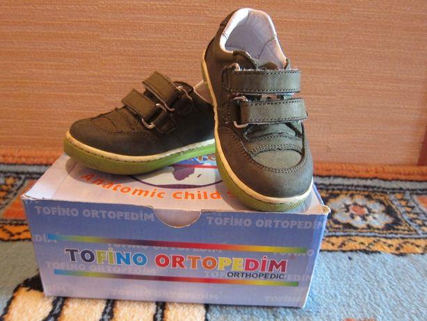 Кроссовки (ботинки) демисезонные Tofino ortopedim р.21 (стелька 14,3см
