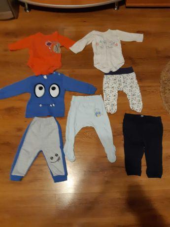 Ubranka dzieciece 0-6 miesiecy dla chlopca
