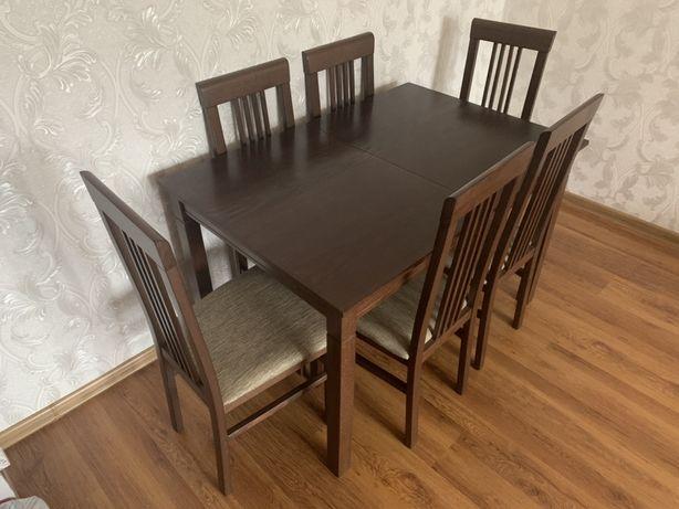 Продам стіл з стільчиками