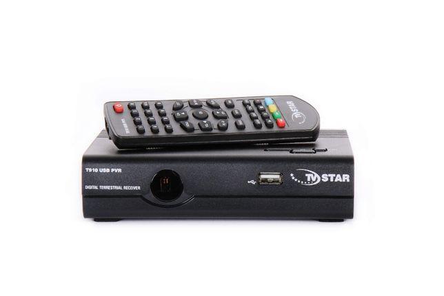 TDT Recetor Digital Terreste + Cabo + Comando