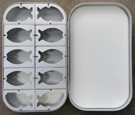 Pudełko muchowe 1500-10WH