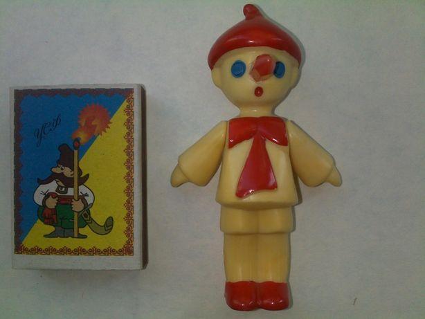 Новая детская игрушка фигурка карандаш весёлые человечки ссср
