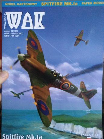 Model kartonowy Spitfire mk.1a