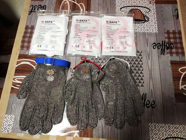 Перчатки кольчужные обвалочные