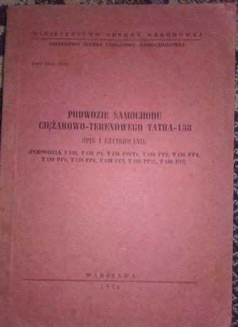 Tatra 138 instrukcja