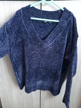 Sweter szenilowy Cropp