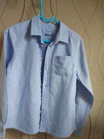 Elegancka,galowa koszula dla chłopca 128
