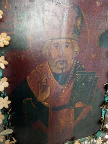 Продам Икону Николай Угодник 18-й век.