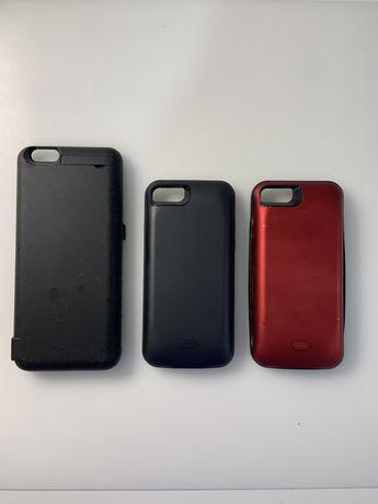Carregador/capa portatil de iphone 8 e 6plus