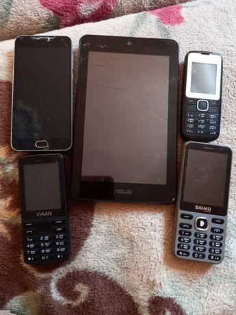 на запчасти телефон планшет телефоны asus nokis viaan sigma meizu