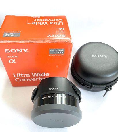 Sony E konwerter szerokokątny wide angle VCL-ECU2 20mm 16mm