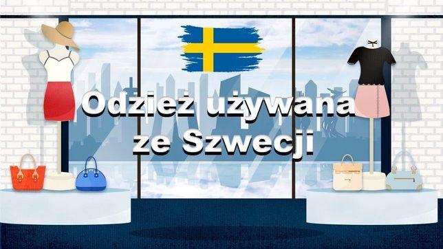 Odzież używana Szwecja hurtownia