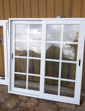 LOTE VARIAS Porta Aluminio/Sacada - Janela Aluminio Vidro Duplo