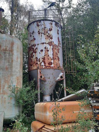 Silos 8 metrowy zbiornik