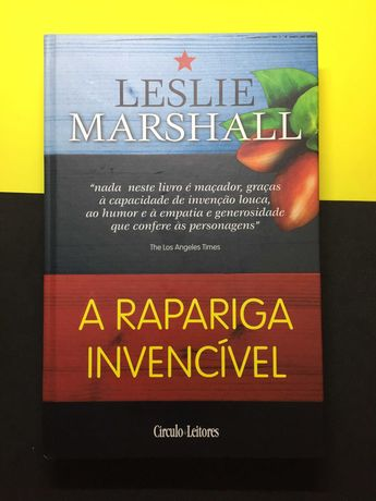 Leslie Marshall - A rapariga invencível (Portes CTT Grátis)