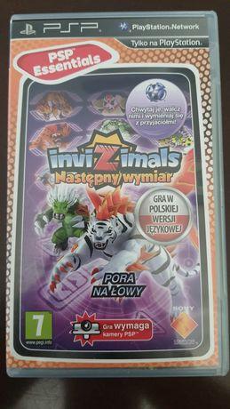 Gra na PSP Invizimals następny wymiar