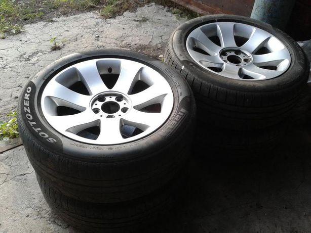 Диски BMW 175 стиль R18 Pirelli 245/50 М+S